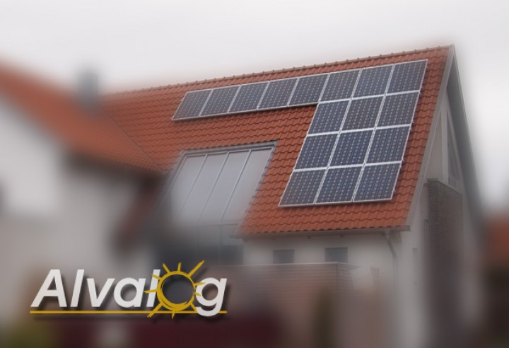 4 kwp 4000wp komplett solaranlage photovoltaikanlage mit deutschen modulen ebay. Black Bedroom Furniture Sets. Home Design Ideas